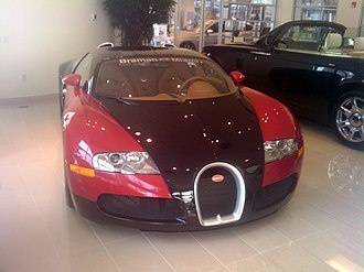 Norman Braman - A Bugatti Veyron sits in the showroom at one of Braman's Miami dealerships