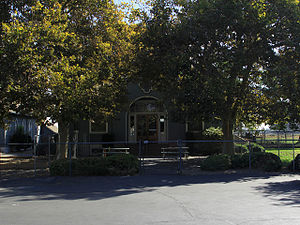 National Register of Historic Places listings in Merced County, California - Image: Buhach Grammar School