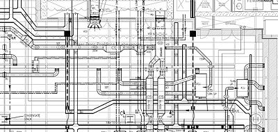 Mechanical systems drawing - Wikipedia | Hvac Drawing Conventions |  | Wikipedia
