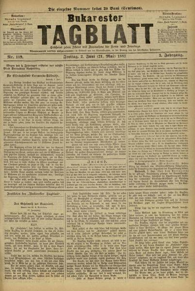 File:Bukarester Tagblatt 1882-06-02, nr. 119.pdf