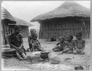 Lobengula - Life in Bulawayo, ca. 1900