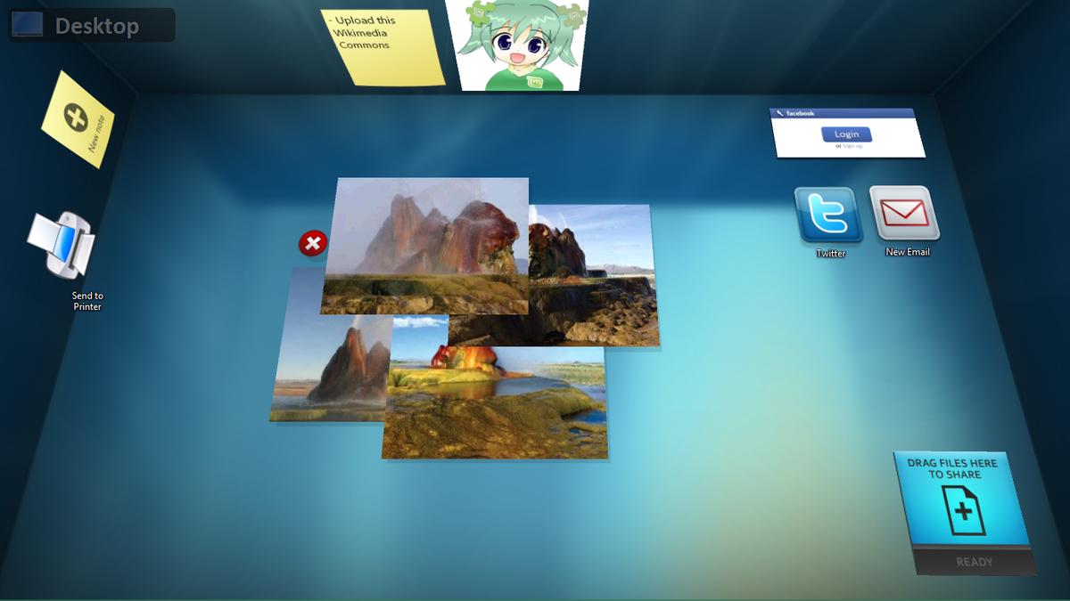 Bumptop для Windows 7 торрент