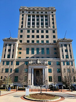Buncombe County Courthouse in Asheville