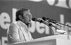 Rudolf Augstein - Rudolf Augstein at FDP-Bundesparteitag, 1980