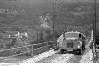 Ford Germany - A Luftwaffe Ford V3000 truck, Italy, 1943