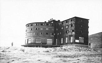 Gran Sasso raid - Campo Imperatore Hotel in 1943