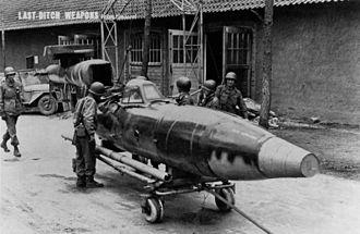 """Argus As 014 - An Fi 103R """"manned V-1"""" at Neu Tramm"""
