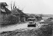 Bundesarchiv Bild 183-B15500, Russland, Dorf vor Moskau