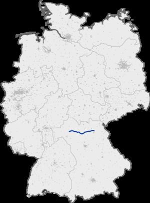 Bundesautobahn 70 - Image: Bundesautobahn 70 map