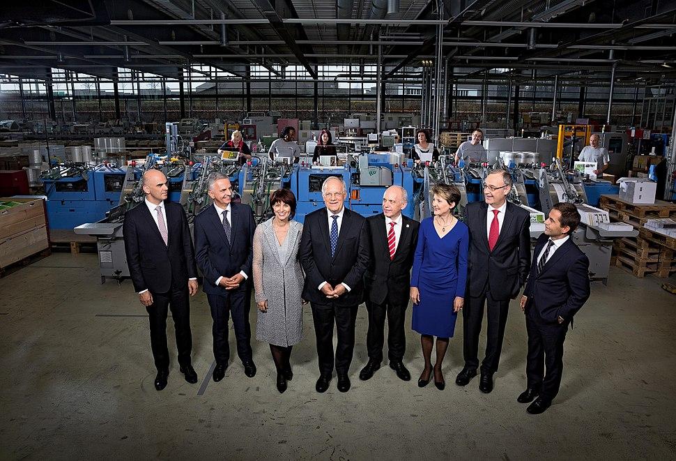 Bundesrat der Schweiz 2016