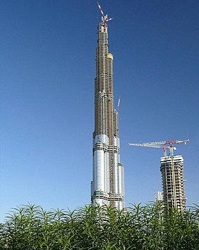 Burj Dubai Under Construction on 29 January 2008.jpg