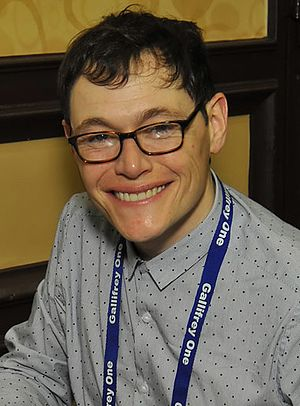 Burn Gorman - Gorman at Gallifrey One in 2015