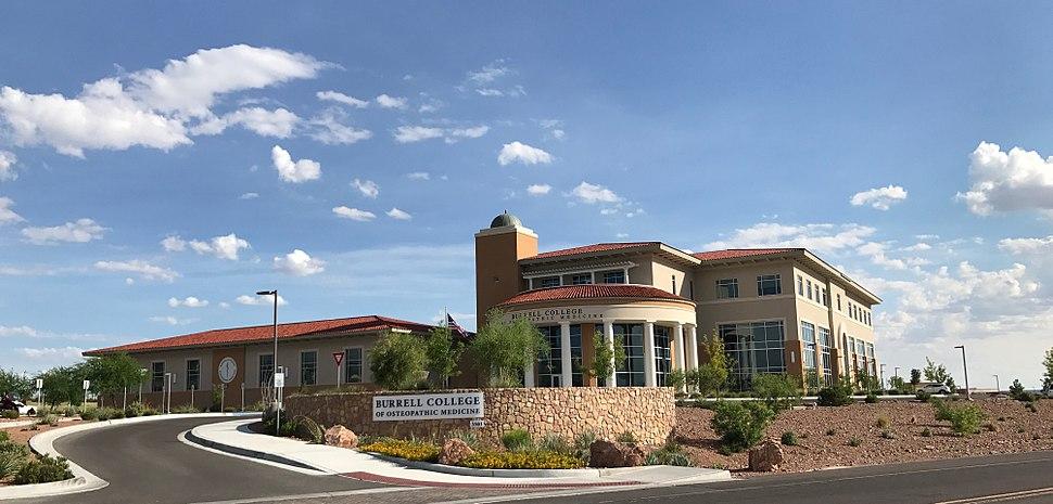 Burrell College on NMSU's campus