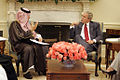 Bush meets with Foreign Minister Prince Saud Al Faisal.jpg