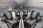 Business class of Qatar Airways' 25th Boeing 787-8.jpg