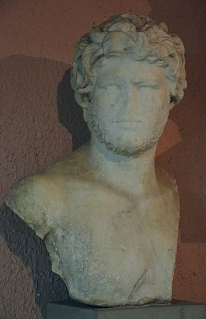 National Archaeological Museum, Tirana - Image: Bust of Caracalla, from Apollonia, Archaeological Museum of Tirana, Albania