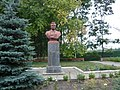 Bust of Sergei Kirov in Kharkiv Enerhetychna street 1.jpg