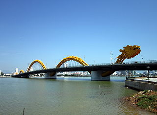 Dragon Bridge (Da Nang) bridge in Vietnam