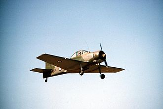 CAC Winjeel - CA25-58 Winjeel A85-458 in Forward Air Control role, 1980
