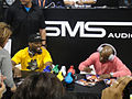 CES 2012 - SMS Audio - 50 Cent and boxer Floyd Mayweather sign for fans (2).jpg