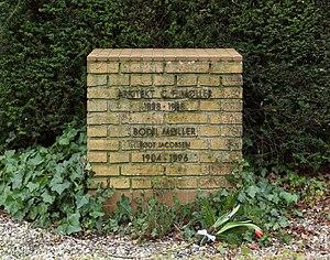C. F. Møller - C.F. Møller's gravestone