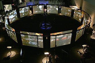 Immersion (virtual reality) - Cosmopolis (2005), Maurice Benayoun's Giant Virtual Reality Interactive Installation