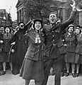 CWAC Celebrating VE-Day London 1945 (4112917355).jpg