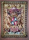 Ca' Rezzonico - Arazzo con lo stemma della famiglia Tiepolo. Fabbricazione francese del XVIII (Gilles Bacor).jpg