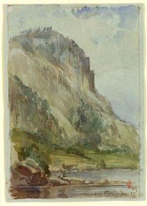 Edward Clarke Cabot - Image: Cabot edward clarke 1818 1901 raven crag