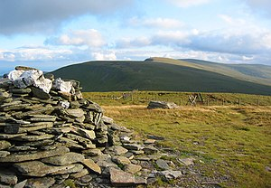 Berwyn range - Summit of Cadair Bronwen, looking towards Cadair Berwyn