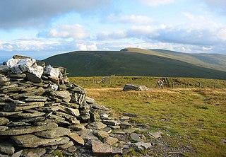 Cadair Bronwen mountain in the United Kingdom