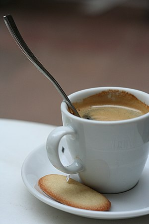 Cafe con galleta