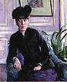 Caillebotte - Portrait of a Young Woman in an Interior, circa 1877.jpg