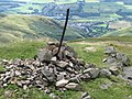 Cairn on The Law - geograph.org.uk - 913958.jpg