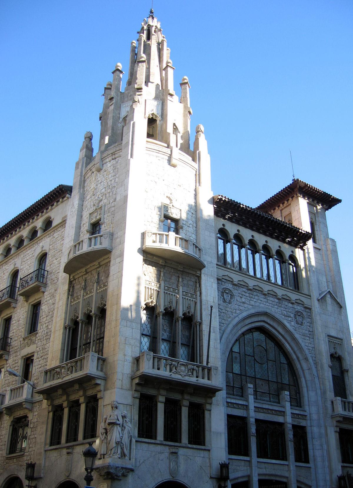 Caja de pensiones para la vejez y de ahorros de catalu a y for Caja de cataluna oficinas
