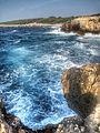 Cala Tramontana from Punta del Vuccolo - San Domino Island, Tremiti, Foggia, Italy - August, 2013 09.jpg