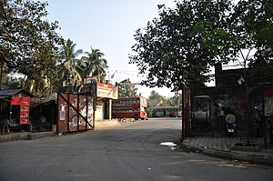 Calcutta State Transport Corporation - The CSTC Maniktala bus depot, Kolkata.