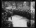 Calvin Coolidge addressing group at White House. Washington, D.C. LCCN2016892777.jpg