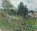 Camille Pissarro Jardin potager à l'Ermitage Pontoise.jpg