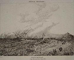 Les généraux Français de l Empire - Page 2 250px-Camp_de_sidi_ferruch_coup_de_vent_du_16_juin_1830