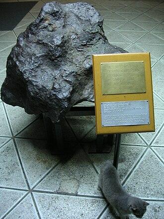 """Campo del Cielo - """"La Perdida"""" fragment, 1530 kg"""