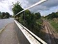 Canal and rail, Windmill Bridge - geograph.org.uk - 2082778.jpg