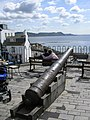 Cannon on seafront terrace - geograph.org.uk - 664034.jpg