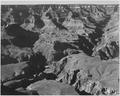 """Canyon and ravine, """"Grand Canyon National Park,"""" Arizona, 1933 - 1942 - NARA - 519893.tif"""