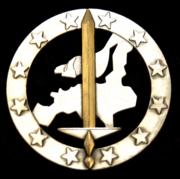 Capbadge of Eurocorps
