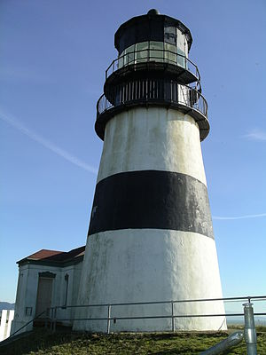 Cape Disappointment Light - Image: Cape Disappointment Lighthouse WA