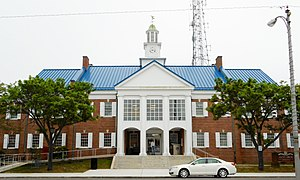 Cape May Court House, New Jersey - Main branch of Cape May County Library