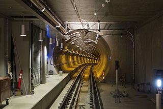 University Link tunnel Rail tunnel in Seattle, Washington, United States