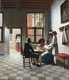 Card Players in a sunlit Room, by Pieter de Hooch.jpg