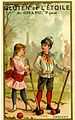 Card depicting two children playing croquet (14312002238).jpg